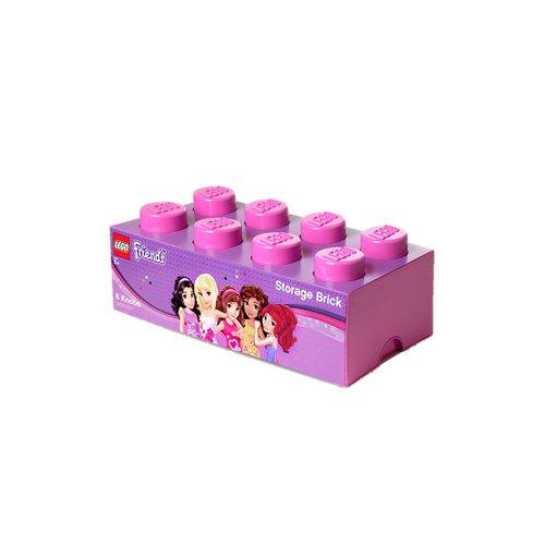 LEGO Storage Brick Pink Friends 8
