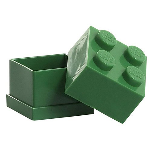 Mini Box Dark Green 4