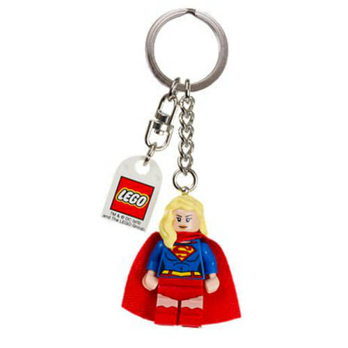 Supergirl Keychain