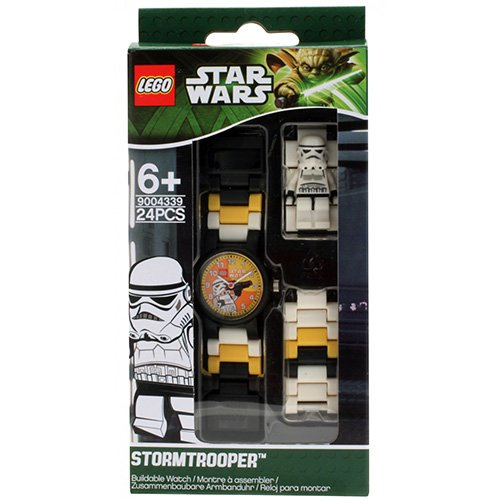 9004339 LEGO Star Wars Stormtrooper Minifig Link Watch (flat)