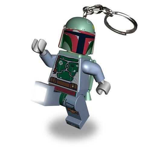 LGL-KE19 LEGO Star Wars Boba Fett privjesak za ključeve sa baterijama