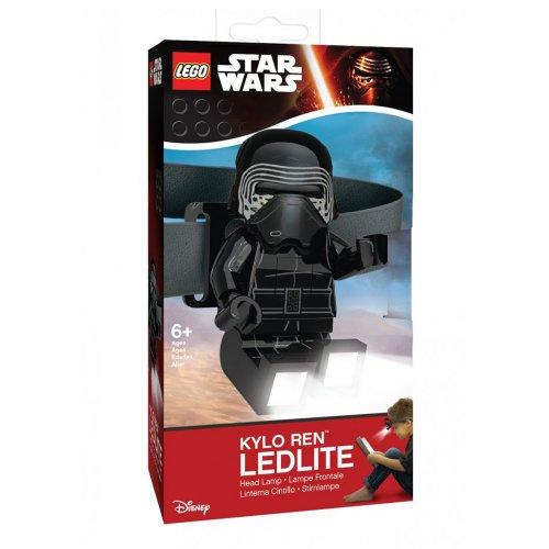 LEGO StarWars LED svjetiljka za glavu Kylo Ren