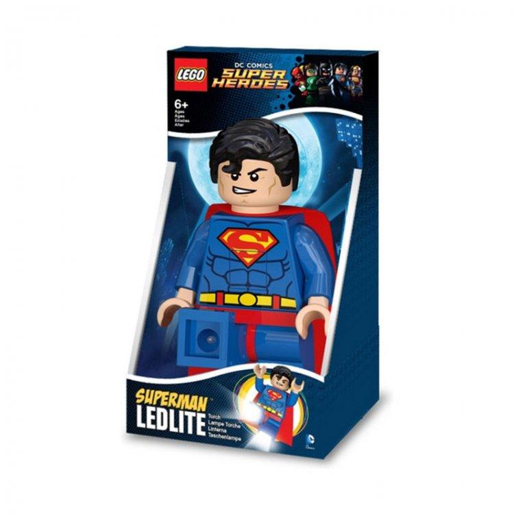 LEGO DC Super Hero baklja Superman