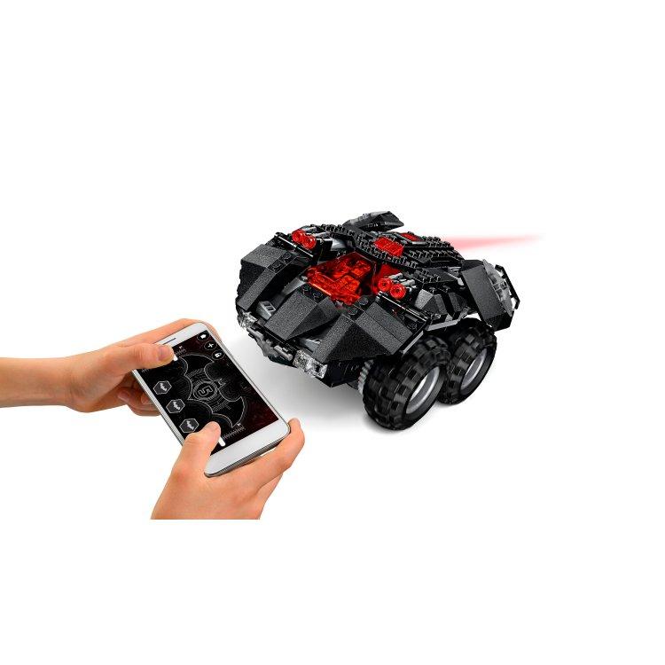 76112 Batmobile kontroliran aplikacijom