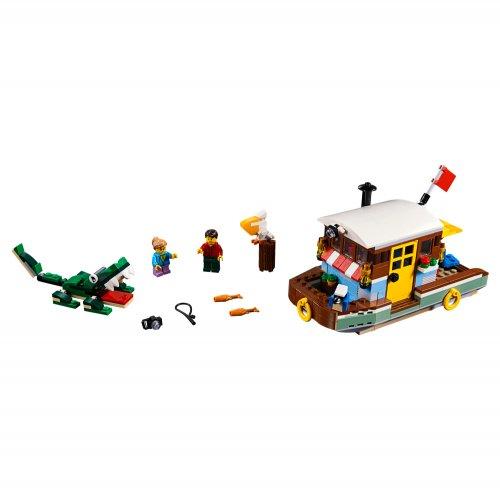 31093 Riječni brod-kuća