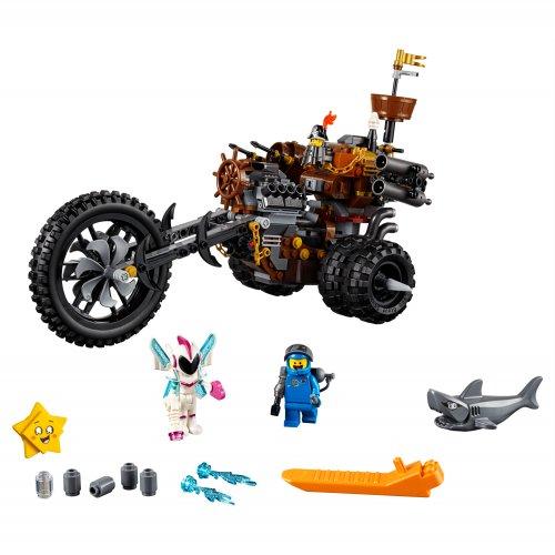 70834 Teškometalni motorni tricikl Metalobradog!