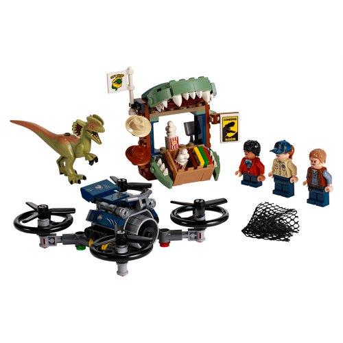 75934 Dilophosaurus na slobodi