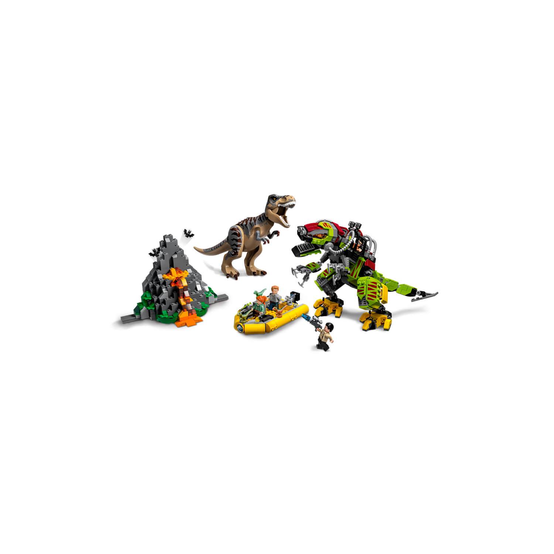 75938 Bitka T. rexa i robota dinosaura