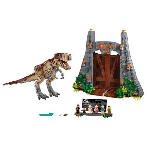 75936 Jurassic Park: Bijes T. rex-a
