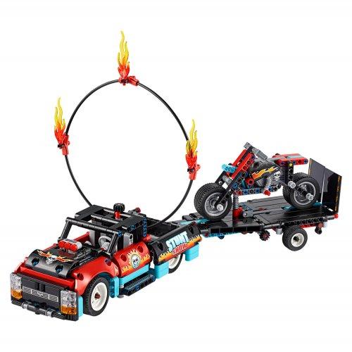 42106 Akrobatski kamion i motor