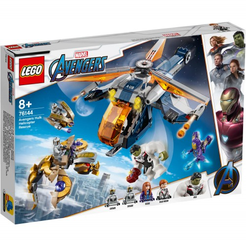 76144 Avengers Hulk Spasilački Helikopter