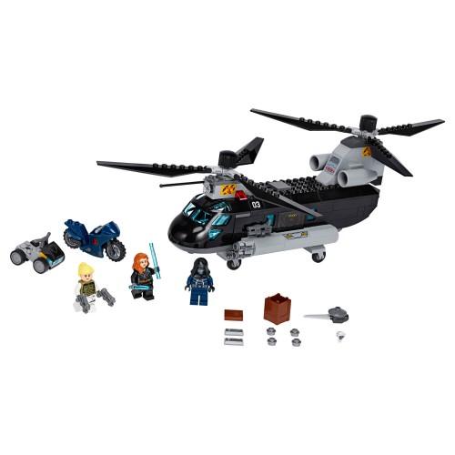 76162 Potjera helikopterom Crne udovice