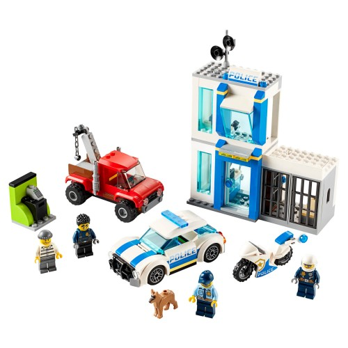 60270 Policijska kutija s kockama