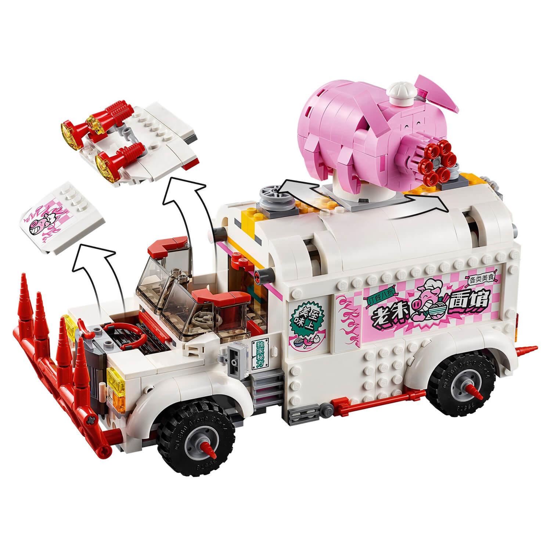 80009 Pigsy-ev kamion sa hranom