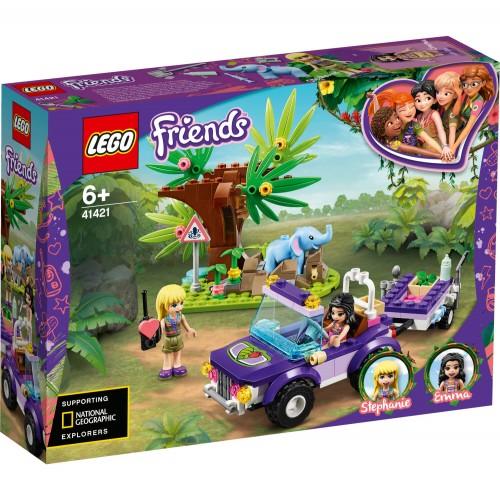 41421 Spašavanje malog slona u džungli