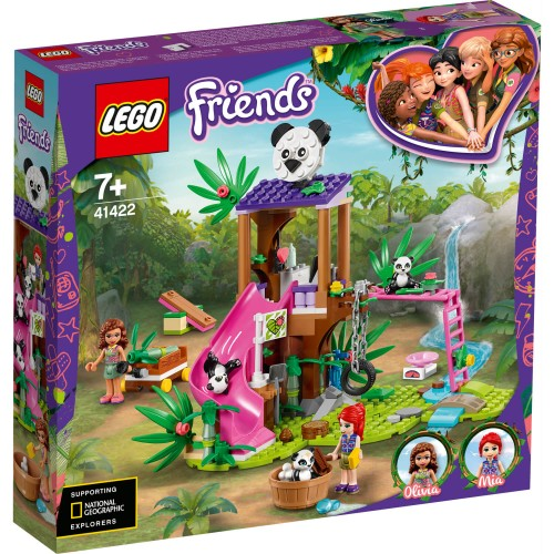 41422 Pandina kućica na drvetu u džungli