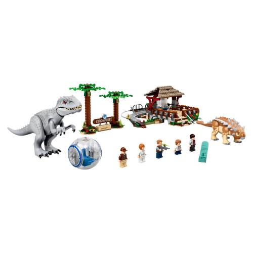 75941 Indominus rex protiv Ankylosaurusa