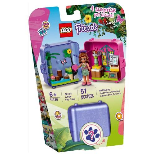 41436 Olivijina kocka za igru džungla