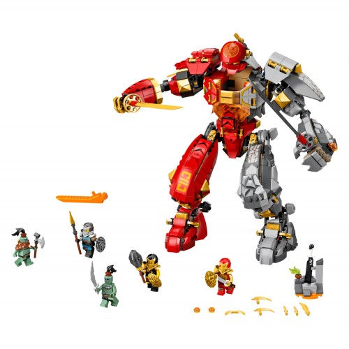 71720 Vatreni kameni robot