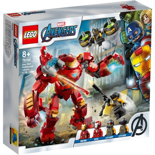 76164 Iron Man Hulkbuster protiv A.I.M. Agenta