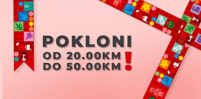 LEGO Pokloni od 20.00KM do 50.00KM