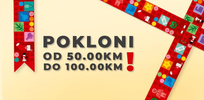 LEGO Pokloni od 50.00KM do 100.00KM