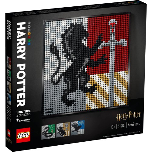 31201 Harry Potter Hogwarts grbovi