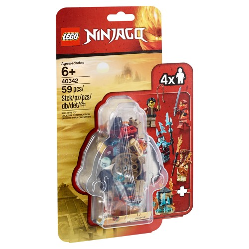 40342 Set Minifigura Ninjago