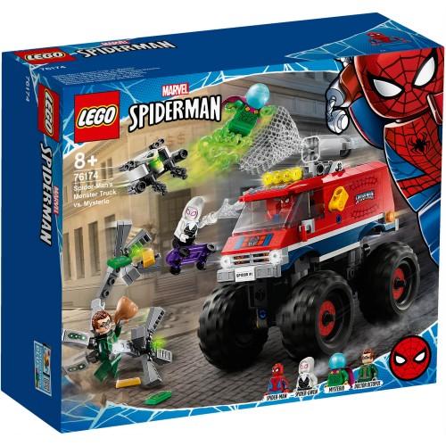76174 Spider-Man kamion protiv Mysteria