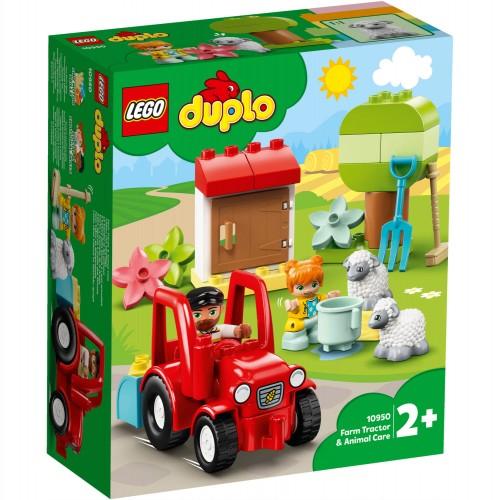 10950 Traktor i briga o životinjama na farmi
