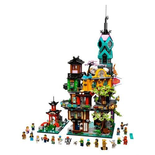 71741 Vrtovi Ninjago City