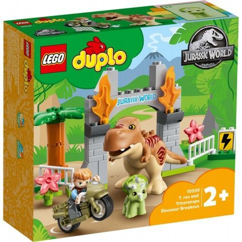 10939 T. rex i triceratops – bijeg dinosaura