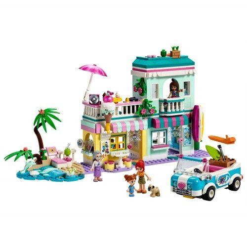41693 Surferska kuća na plaži