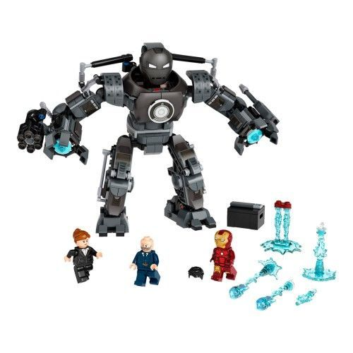 76190 Iron Man: Iron Monger stvara haos