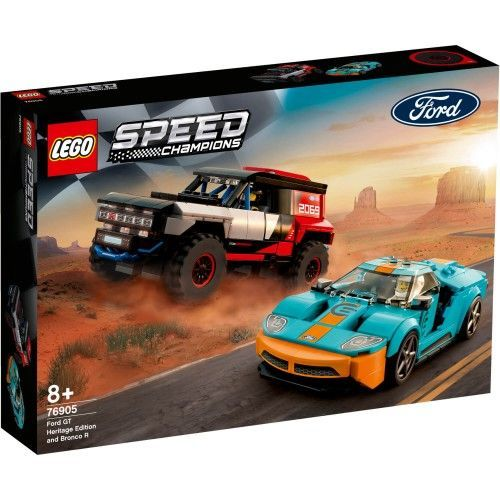 76905 Ford GT Heritage Edition i Bronco R