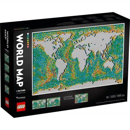 31203 Karta svijeta